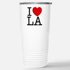 Cute I heart la Travel Mug