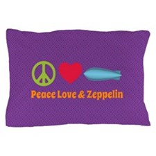 Peace Love & Zeppelin Pillow Case
