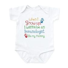 Immunologist Like Mommy Infant Bodysuit