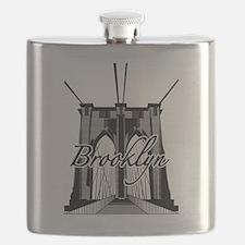 Brooklyn Bridge Flask