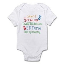 ER Nurse Like Mommy Infant Bodysuit