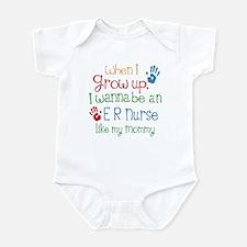 ER Nurse Like Mommy Infant Bodysuit