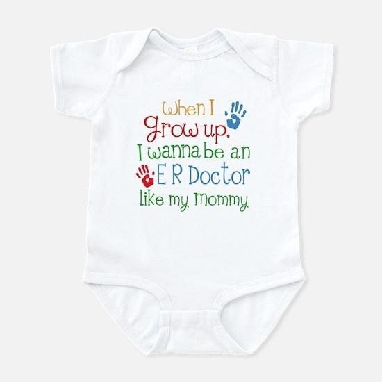 ER Doctor Like Mommy Infant Bodysuit