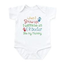 ER Doctor Like Mommy Onesie