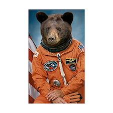 Bear Astronaut Decal