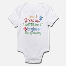 Engineer Like Mommy Onesie