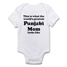 Punjabi mom Infant Bodysuit