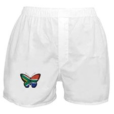 South African Flag Butterfly Boxer Shorts