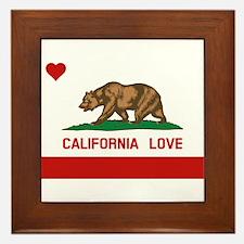 Unique California republic Framed Tile