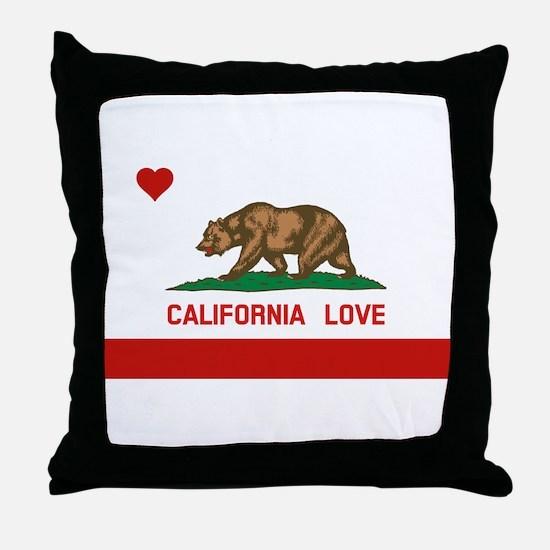 Funny California republic Throw Pillow