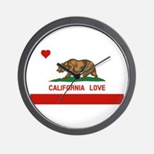 Cute Hollister california Wall Clock