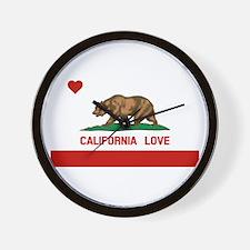 Unique California Wall Clock