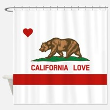 Cute California republic Shower Curtain