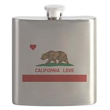Cute California flag Flask