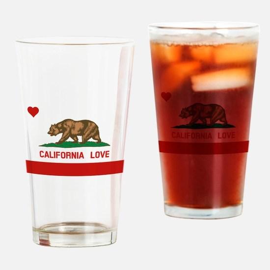 Unique California republic Drinking Glass