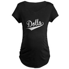 Dolla, Retro, Maternity T-Shirt