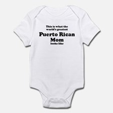 Puerto Rican mom Infant Bodysuit