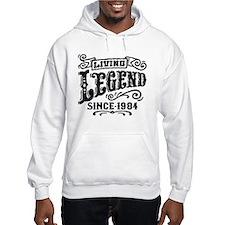 Living Legend Since 1984 Hoodie