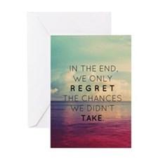 Inspirational Quote  Greeting Card