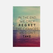 Inspirational Quote  Rectangle Magnet