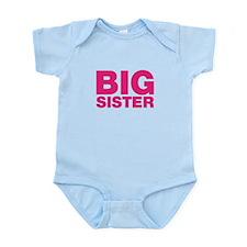 Big Sister Pink Design Body Suit