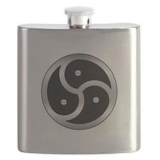 BDSM triskelion Flask