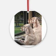 English Setter Puppies.JPG Ornament (Round)