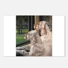 English Setter Puppies.JPG Postcards (Package of 8