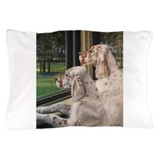 English Setter Puppies.JPG Pillow Case