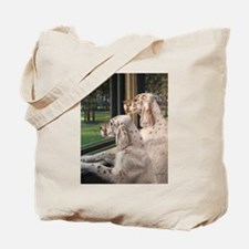 English Setter Puppies.JPG Tote Bag