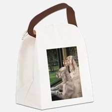 English Setter Puppies.JPG Canvas Lunch Bag