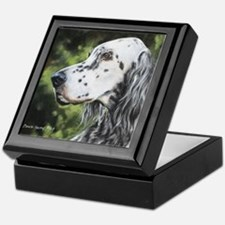 English Setter by Dawn Secord.jpg Keepsake Box