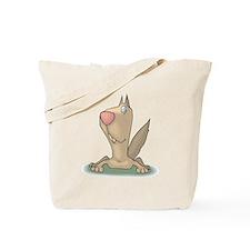 Goofy Squirrel Tote Bag