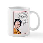 Undressing me Mugs