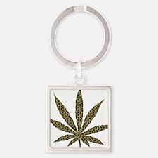 Chamo Weed Leaf Keychains