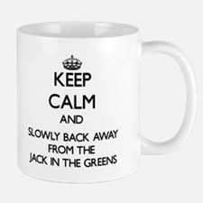 Keep calm and slowly back away from Jack in the gr