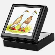 Runner Ducks Keepsake Box