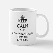 Keep calm and slowly back away from Kitsunes Mugs