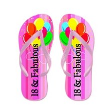 Stylish 18th Flip Flops