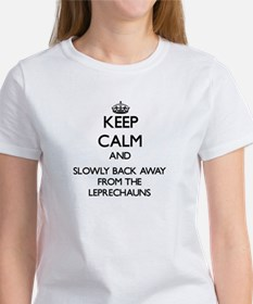 Keep calm and slowly back away from Leprechauns T-