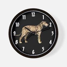 Irish Wolfhound Wall Clock
