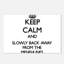 Keep calm and slowly back away from Menehunes Post
