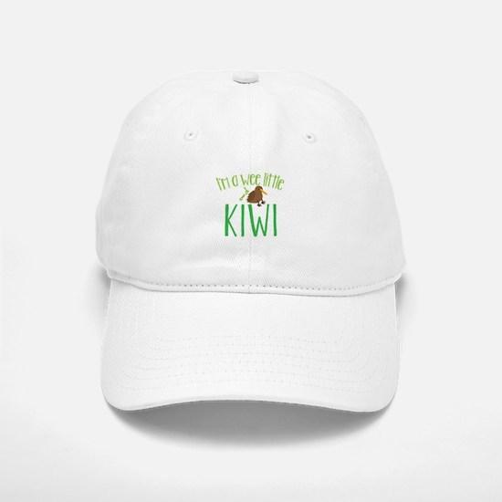 Im a wee little kiwi (New Zealand map) Baseball Baseball Cap