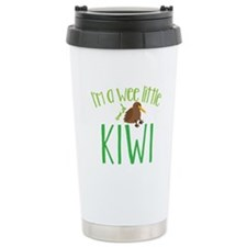 Im a wee little kiwi (New Zealand map) Travel Mug