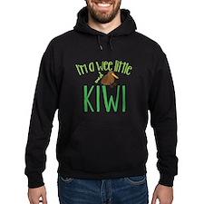 Im a wee little kiwi (New Zealand map) Hoodie