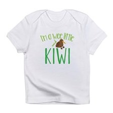 Im a wee little kiwi (New Zealand map) Infant T-Sh