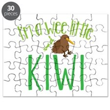 Im a wee little kiwi (New Zealand map) Puzzle