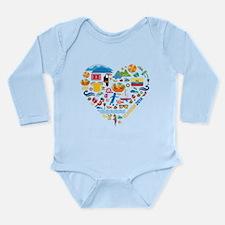 Ecuador World Cup 2014 Long Sleeve Infant Bodysuit