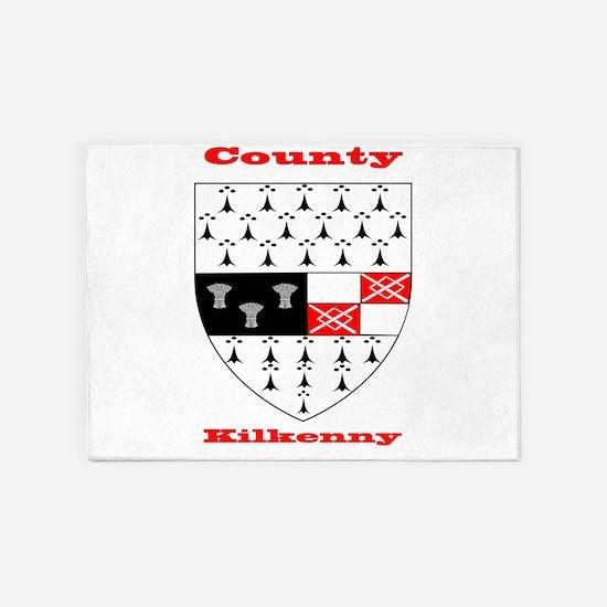 County Kilkenny COA 5'x7'Area Rug