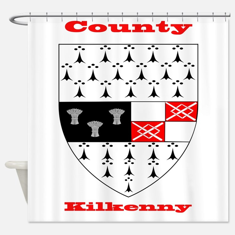 County Kilkenny COA Shower Curtain